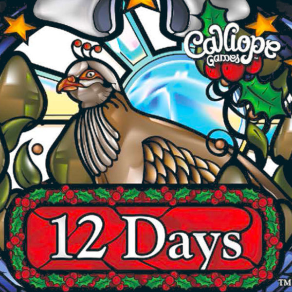 12 Days cover card game Calliope Games