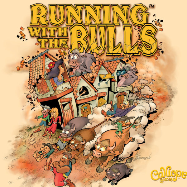 Running With The Bulls Cover by Calliope Games