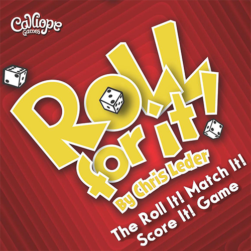 Roll For It dice game red edition Calliope Games