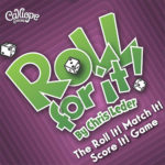 Roll For It purple edition dice game Calliope Games