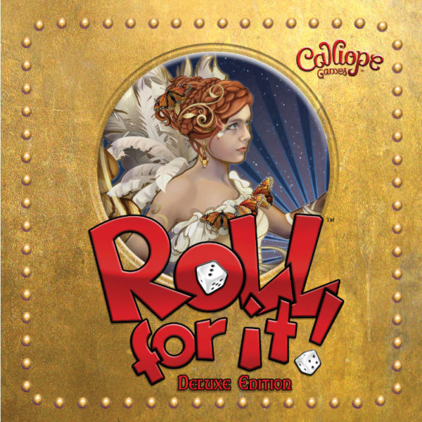 Roll For It Deluxe Edition tin Calliope Games dice game