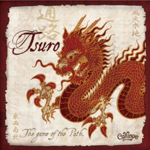 Tsuro Game of the Path Calliope Games cover