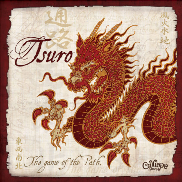 Tsuro Game of the Path Calliope Games cover