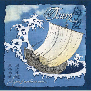 Tsuro of the Seas board game by Calliope Games box