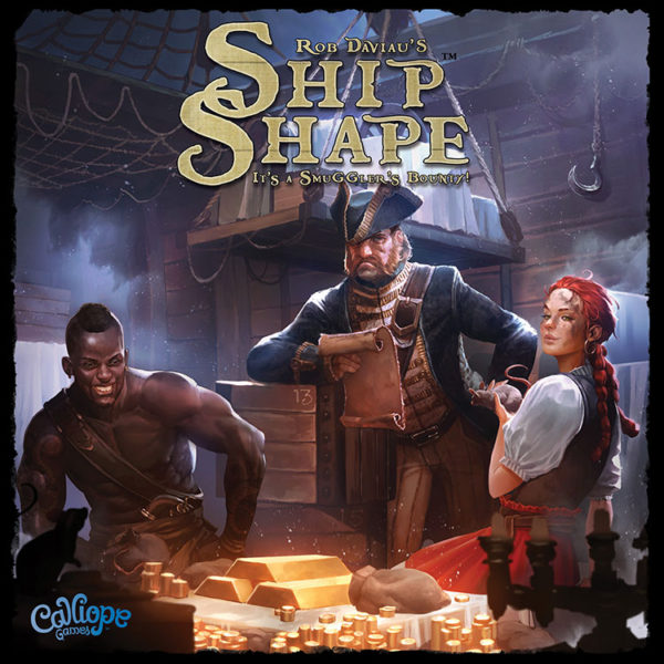 ShipShape game cover by Calliope Games