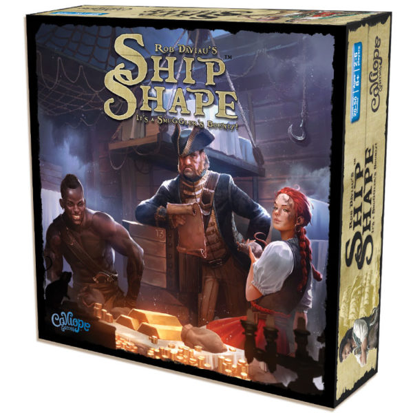 ShipShape game box by Calliope Games