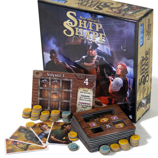 ShipShape Game Components from Calliope Games