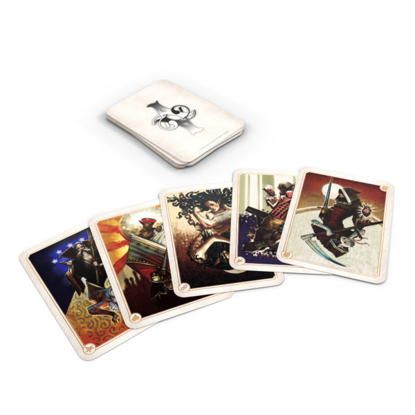 Allegory board game Moral cards