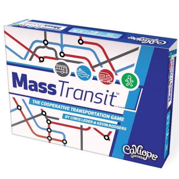 Mass Transit card game box Calliope Games