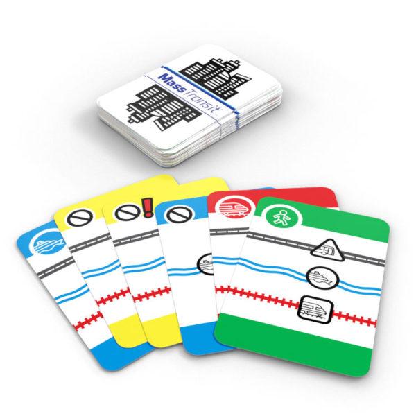 Mass Transit card game Calliope Games