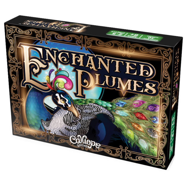 Enchanted Plumes card game Calliope Games box