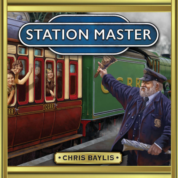 Station Master board game box Calliope games