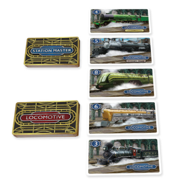 Station Master card game by Calliope Games