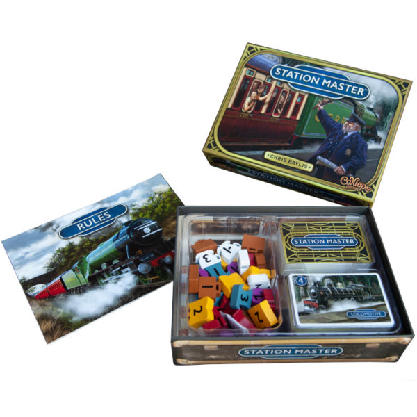 Station Master components by Calliope Games