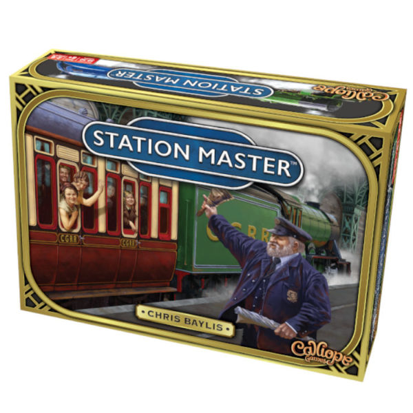 Station Master game box by Calliope Games