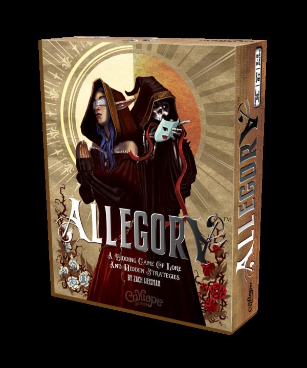 Allegory board game box Calliope Games
