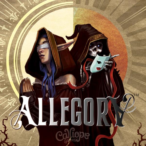 Allegory Calliope Games board game box