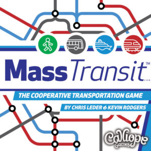 Mass Transit card game box cover Calliope Games
