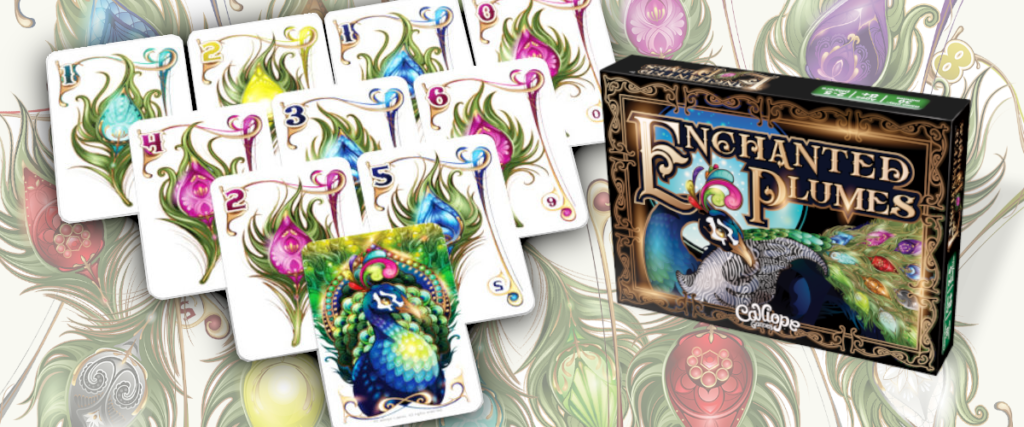 Enchanted Plumes card game Calliope Games