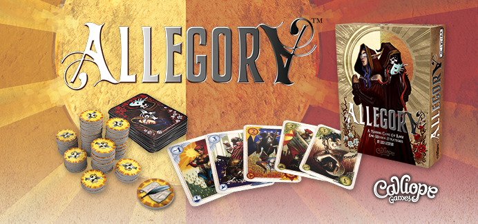 Allegory Calliope games box banner