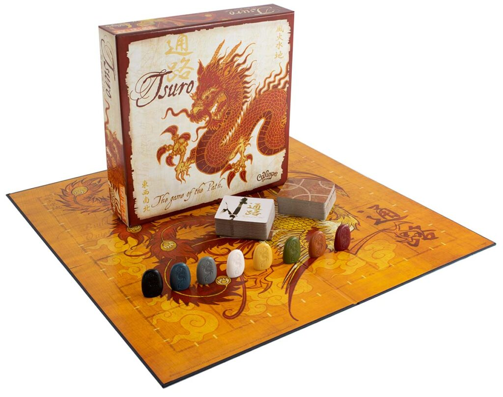 Tsuro box and components
