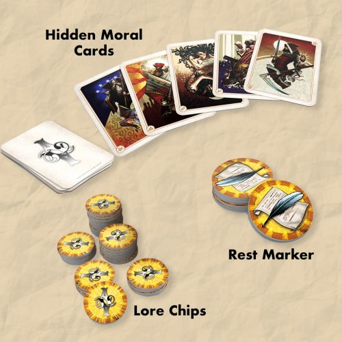 Allegory game components