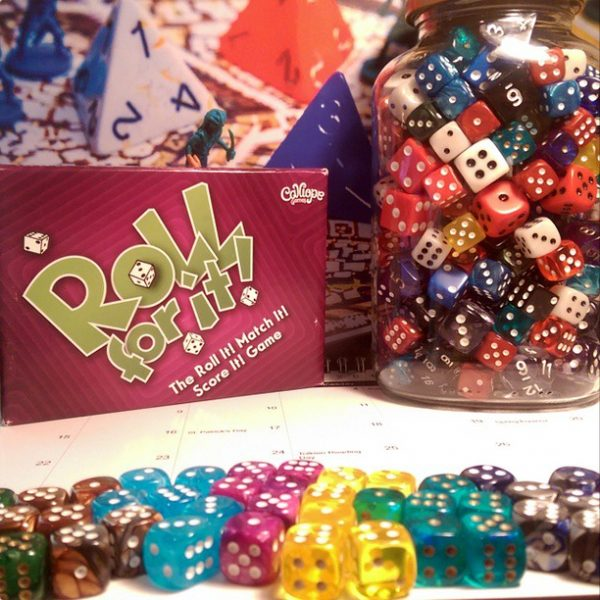 Roll For It and a pot of dice