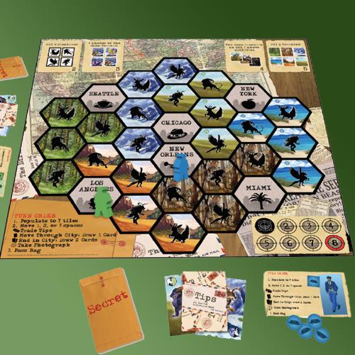 Shutterbug Game Board